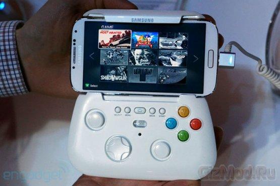 Samsung готовит игровой контроллер для Galaxy S4