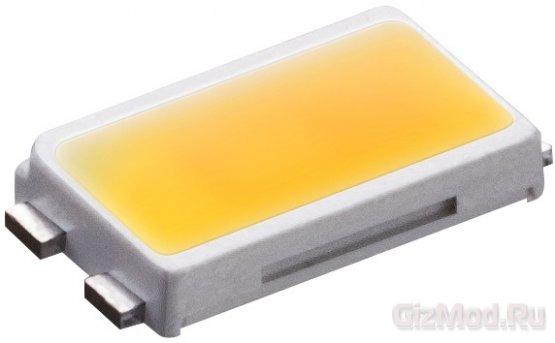 Эффективные LED-лампы Samsung