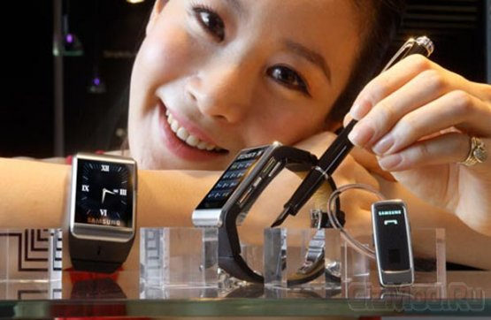 Samsung разрабатывает смарт-часы