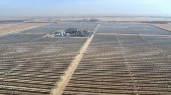 Крупнейшая солнечная электростанция находится в ОАЭ