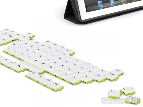 Концептуальная клавиатура-пазл Puzzle Keyboard