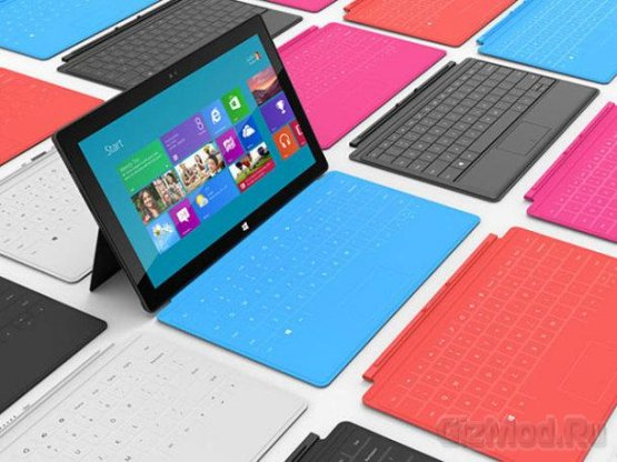 Клавиатура для Surface под охраной патента