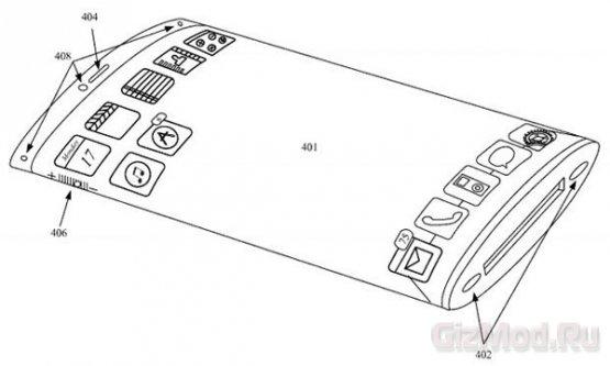 Полностью сенсорный телефон по задумке Apple
