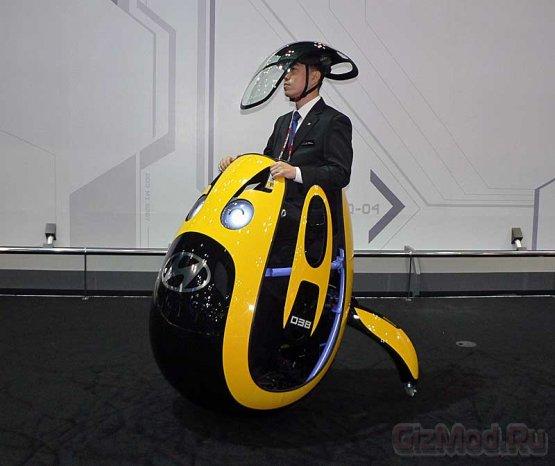 Персональный яйцевидный минимобиль Hyundai E4U