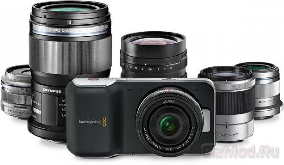 Карманная камера с датчиком изображения Super 16