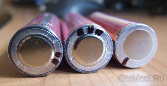 Тестирование Li-ion аккумуляторов Sanyo 2600mAh 18650