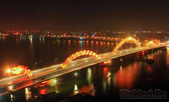 Во Вьетнаме открыли Мост Дракона