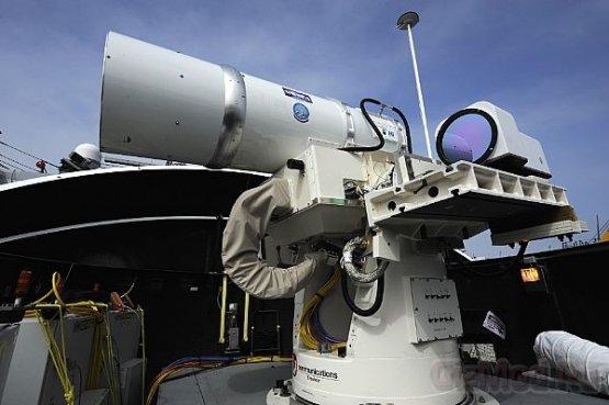 США установят лазерные пушки на вооружение в 2014-ом
