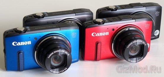 Обзор Canon Powershot SX270 HS и SX280 HS
