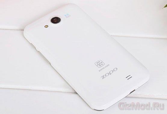4х-ядерный CPU и ОС Aliyun в смартфоне Zopo C1
