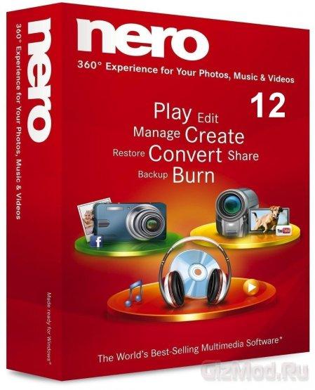 Nero 12.5.00400 Free - запись дисков