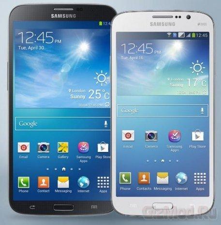 Цены на Samsung Galaxy Mega 5.8 и 6.3 в России