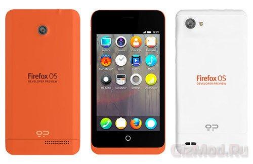 Смартфоны Keon и Peak под управлением ОС Firefox