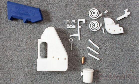 Пластиковый огнестрельный пистолет «Освободитель»