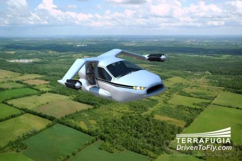 Terrafugia планирует машину с вертикальным взлетом