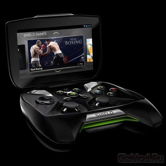 Nvidia начинает прием заказов на консоль Shield