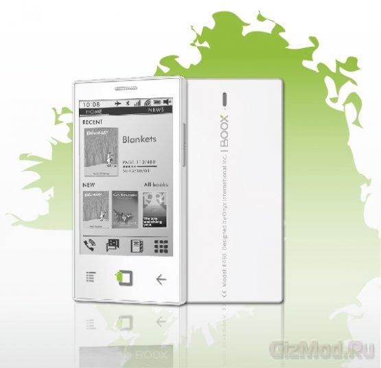 """Onyx E43 - смартфон с E Ink экраном диагональю 4,3"""""""
