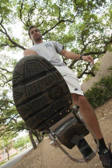 """PediPower - прототип """"обувной"""" зарядки"""