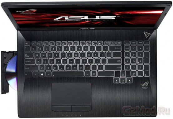 Ноутбук для геймеров Asus G750