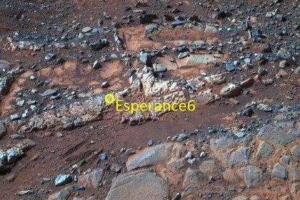 Opportunity нашел следы пресной воды на Марсе