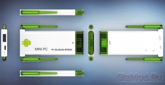 70-долларовый микро-ПК DM918 Android TV Stick