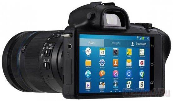 Беззеркалка Samsung Galaxy NX с ОС Android на борту