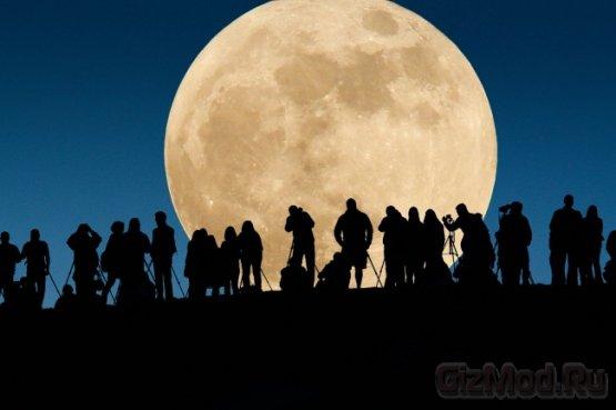 23 июня Луна максимально приблизится к Земле