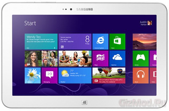 Samsung Ativ Tab 3 - Clover Trail планшет с ОС Windows
