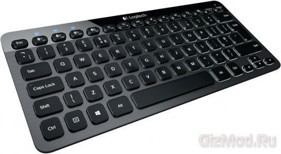 Bluetooth-клавиатура с подсветкой Logitech K810