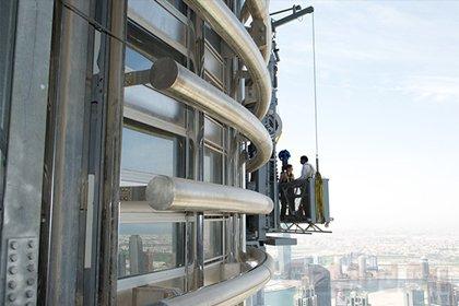 Google отсняла панораму с небоскреба «Бурдж-Халифа»