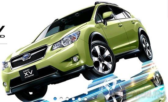 Subaru выпустила гибридный кроссовер XV Hybrid
