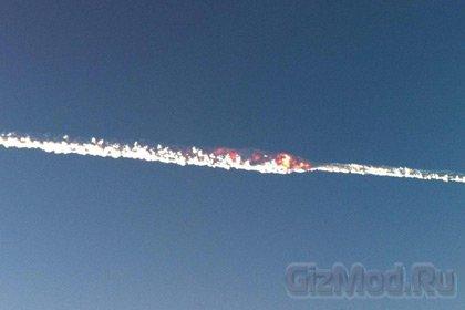 Челябинский метеорит взбудоражил атмосферу Земли