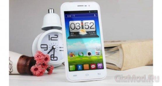 GooPhone X1 - четырёхъядерный 100 долларовый смартфон