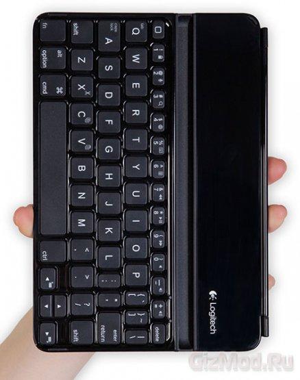 Logitech Ultrathin Keyboard Cover - клавиатура к iPad mini