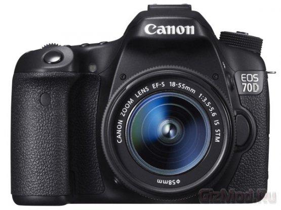 Новая зеркалка Canon EOS 70D с уникальным автофокусом