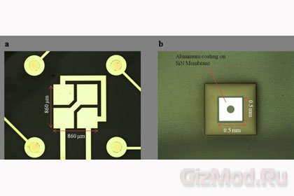 Физики разработали дрожащую наноантенну