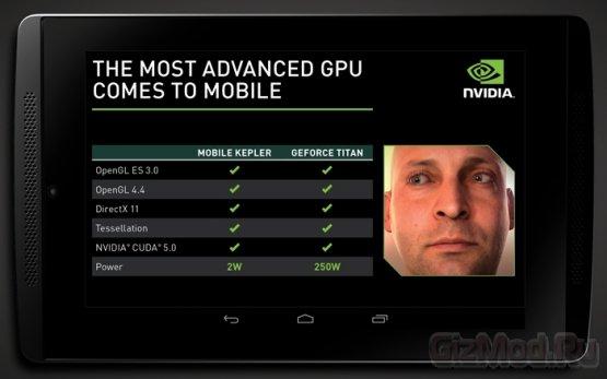 NVIDIA поведала о новых мобильных чипах Tegra