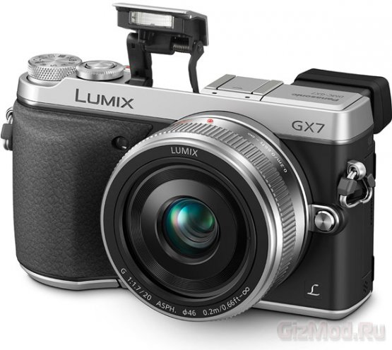 Panasonic представила беззеркалку Lumix DMC-GX7