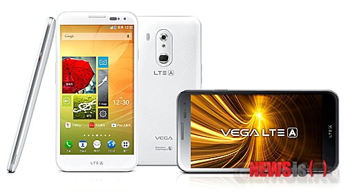 "5,6"" смартфон Pantech Vega LTE-A"