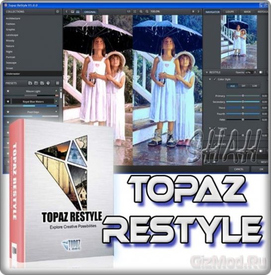 Topaz ReStyle 1.0.0 Photoshop Plugin 15.08.2013 - плагин для Photoshop