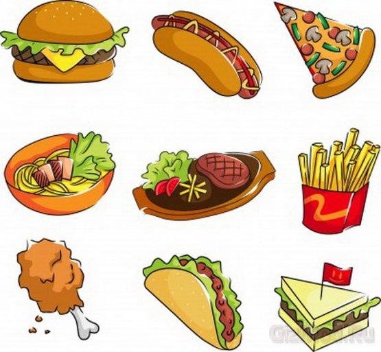 Продукты питания негативно влияющие на работу мозга