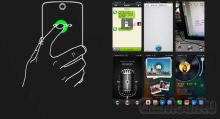 """Смартфон Oppo N1 """"позирует"""" на фото"""
