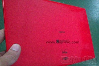 Стали известны характеристики Windows-планшета Nokia