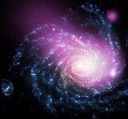 Красота столкновения галактик в рентгеновских лучах