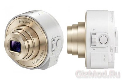 Sony демонстрирует фотоприставку к камере смартфонов