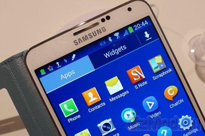 Galaxy Note 3 предстал пред очи