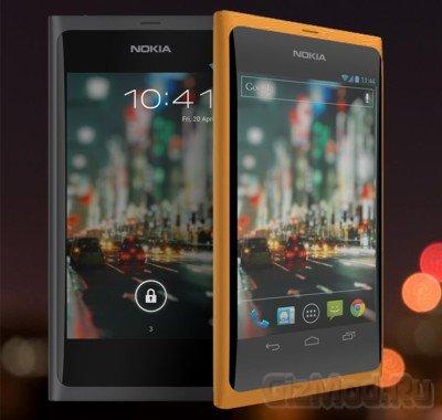 Lumia проходил тесты на Android