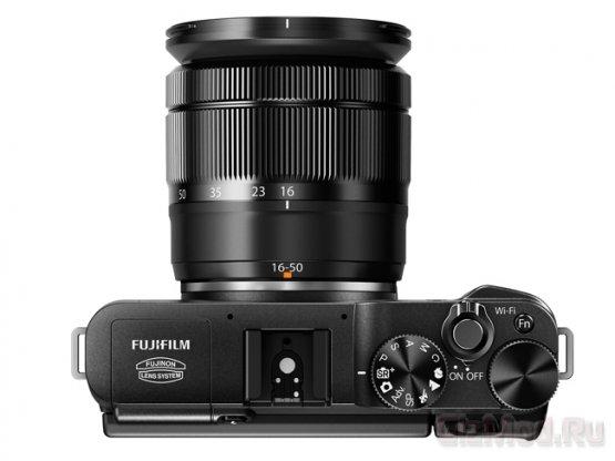 Представлена беззеркалка Fujifilm X-A1