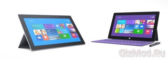 Surface Pro 2 представлен Microsoft