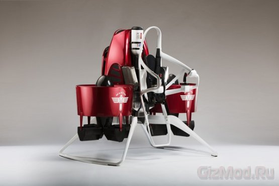 Обновленный реактивный рюкзак Martin Jetpack